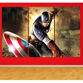 Cuadros En Vinilo Capitán América