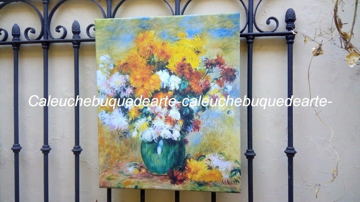 Cuadros Famosos En Lienzo Marcos Pintores Renoir 40x50 - $ 650,00 en ...