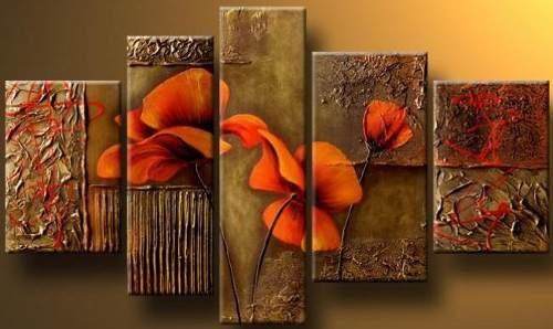 cuadros flores decorativos