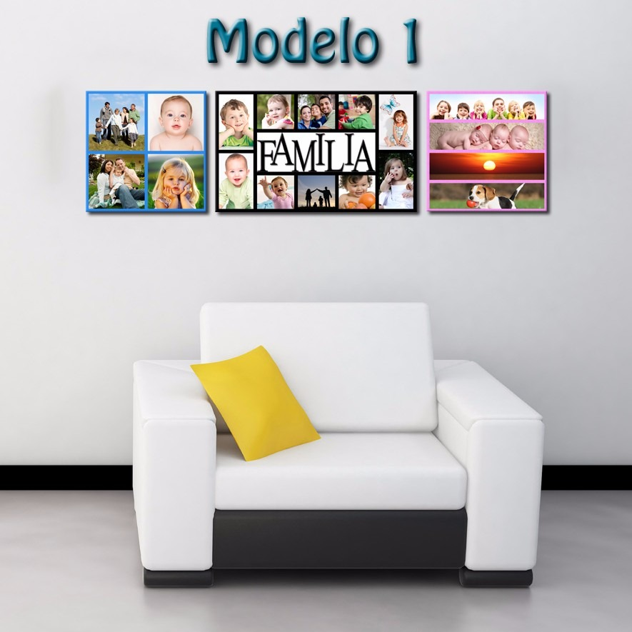 cuadros foto collage decorativos para hogar navidad bs