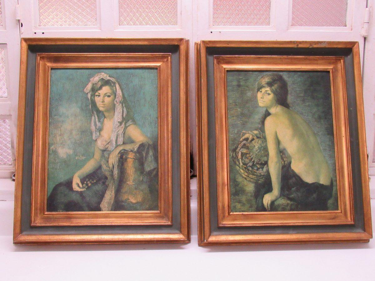 Cuadros Francisco Ribera Decoración Marco Pintura Arte - Bs. 256.800 ...