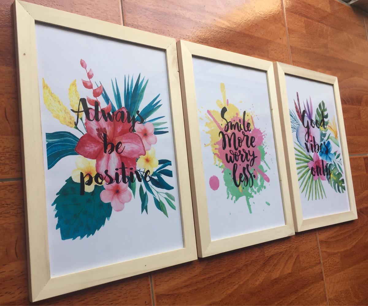Cuadros Frases Full Color - 20x30 - $ 450,00 en Mercado Libre