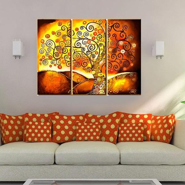 Cuadros grandes modernos cuadros modernos de flores - Pintura comedor moderno ...