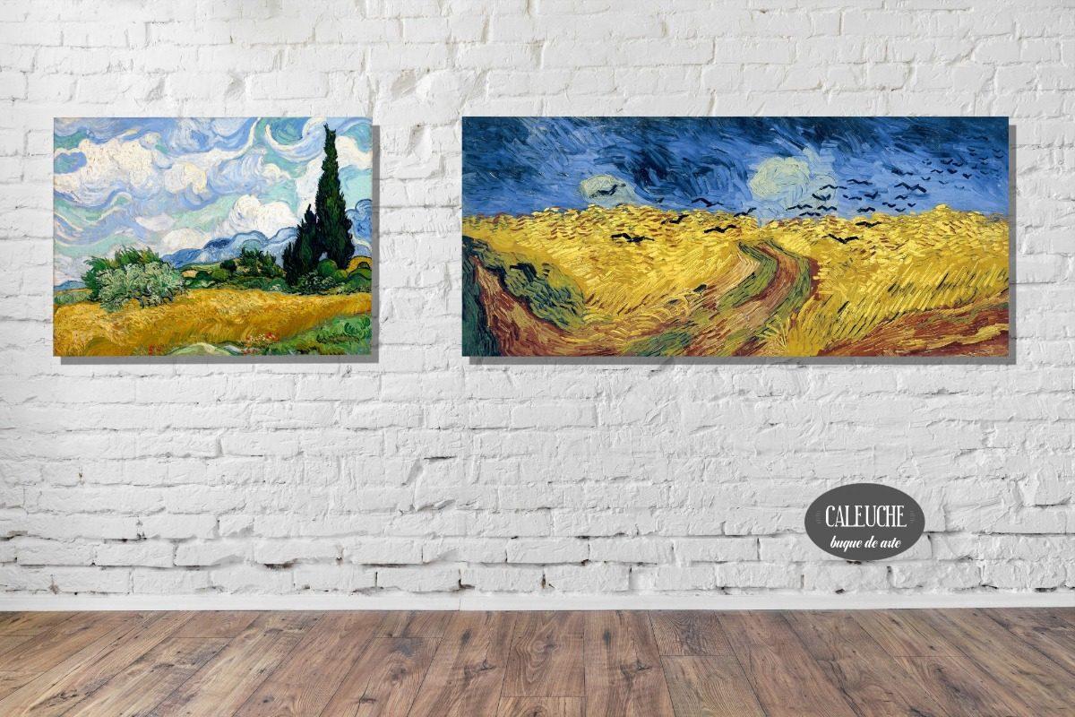 Cuadros Impresiones Lienzo - Van Gogh 60x80 - $ 1.000,00 en Mercado ...