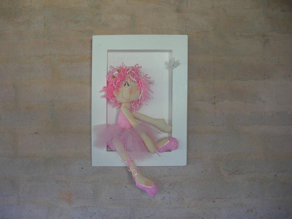 Cuadros infantiles bailarinas y mu ecas decoraci n - Cuadros bailarinas infantiles ...