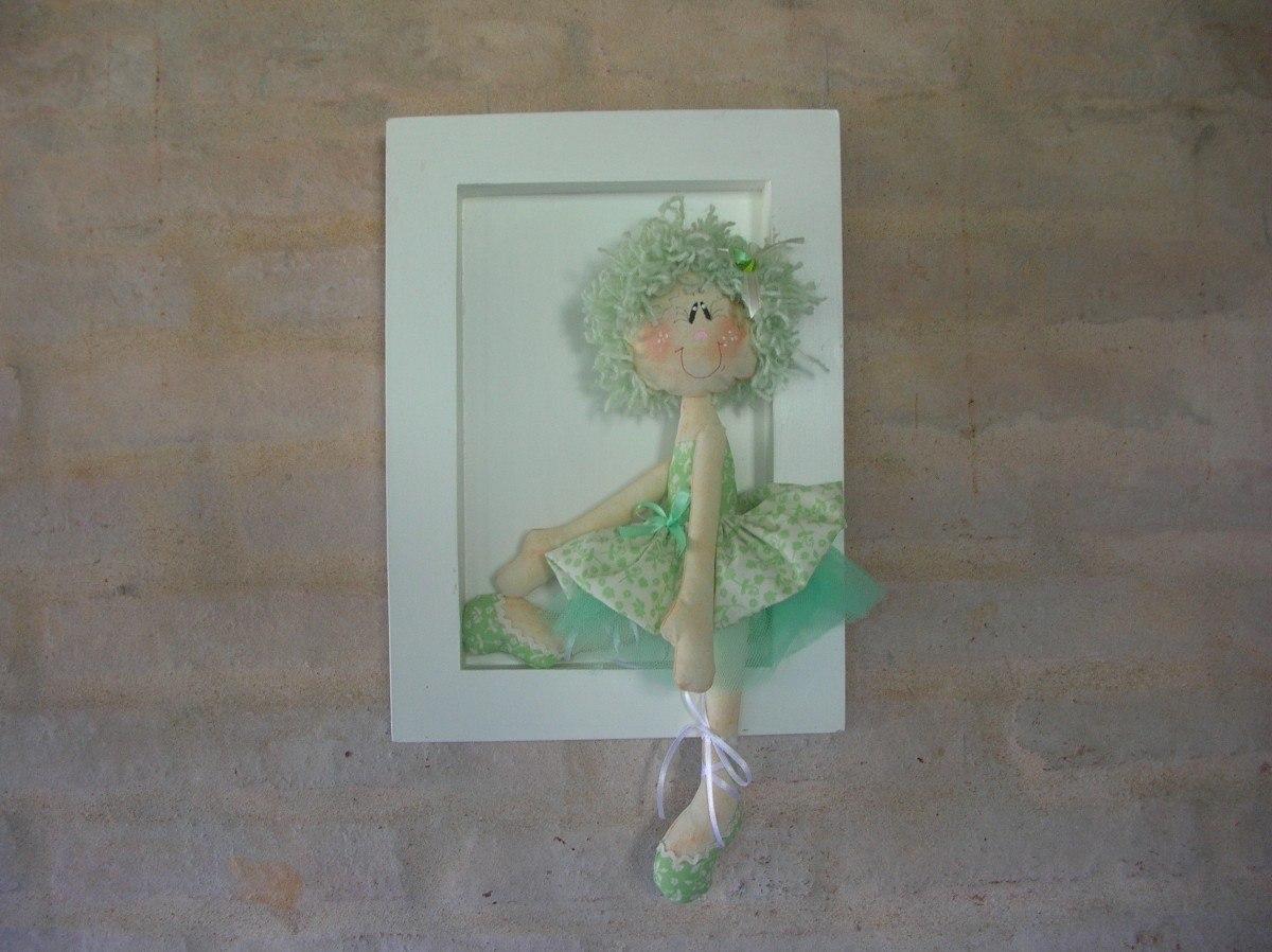Cuadros infantiles bailarinas y mu ecas decoraci n - Cuadros infantiles para habitacion de nina ...