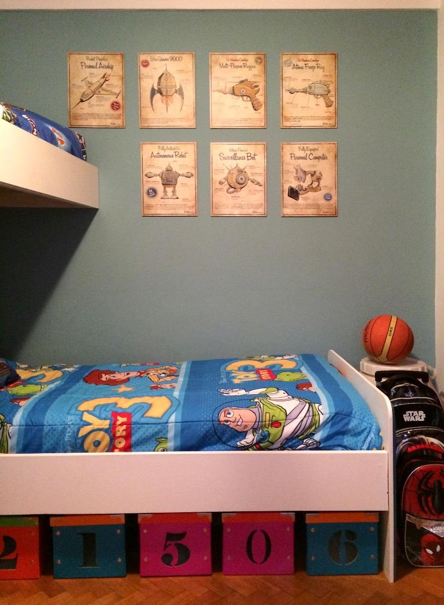 Cuadros Infantiles Cuarto Ninos Decoracion Habitacion Retro 240 - Habitacion-retro