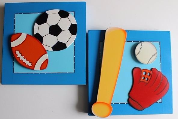 Cuadros infantiles decoraci n recamaras de ni os y ni as - Cuadros abstractos para ninos ...