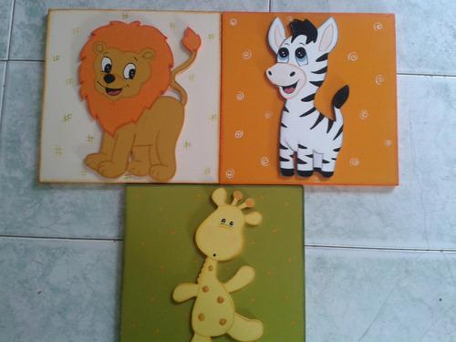 cuadros infantiles decorativos en mdf