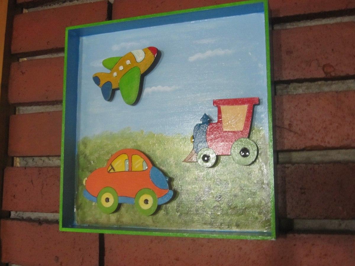 cuadros infantiles en fibrofacil
