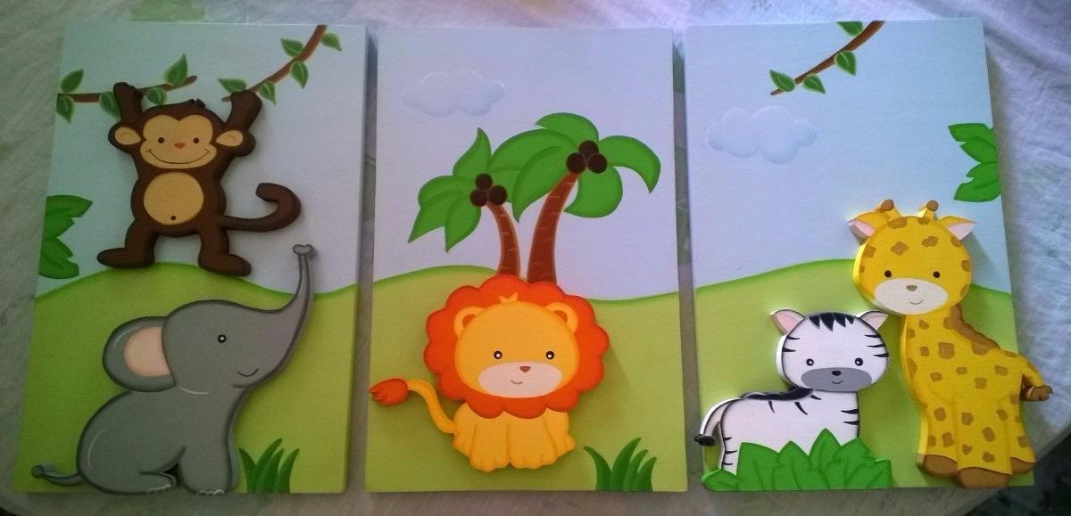 Cuadros infantiles en mdf bs en mercado libre - Cuadros decorativos infantiles para ninos ...