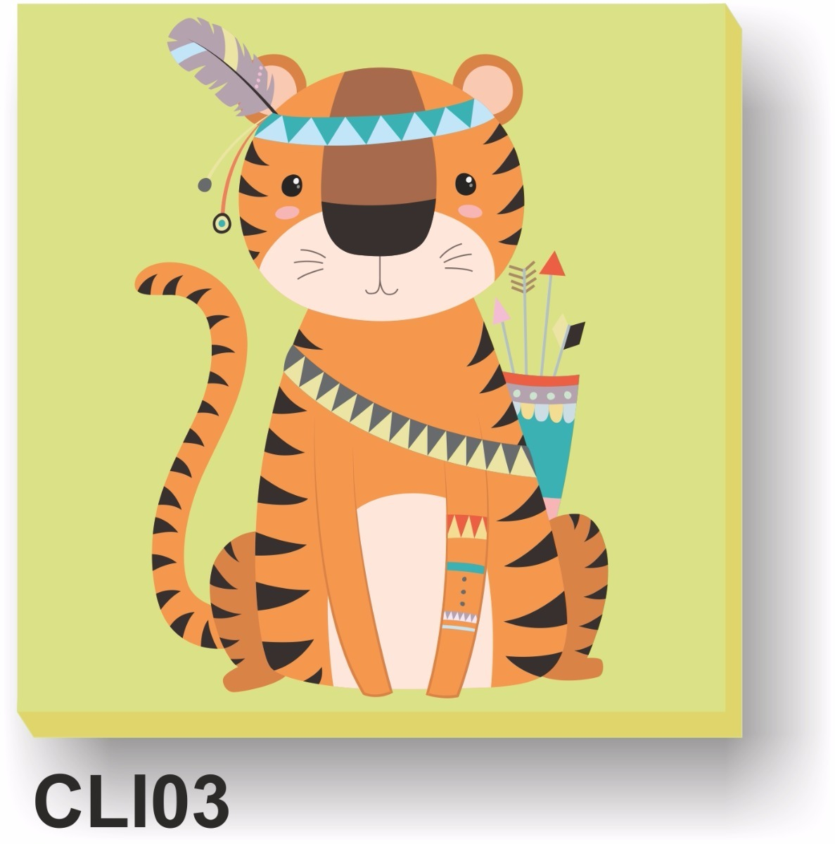 cuadros infantiles tigre