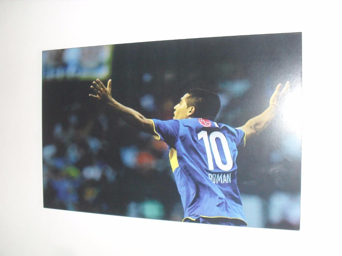 Cuadros Juan Roman Riquelme Boca Juniors Decoracion Xl 215  # Muebles Riquelme