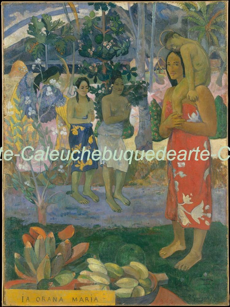 Cuadros Láminas Impresiones Lienzo - Paul Gauguin - 40x60 - $ 650,00 ...