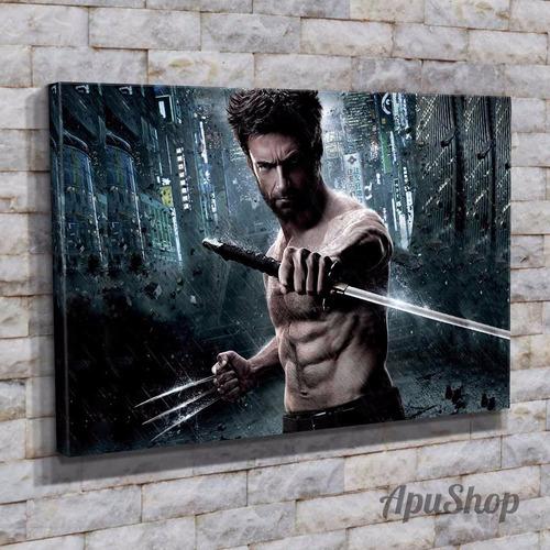 cuadros lienzo 45x30 película wolverine x men marvel más