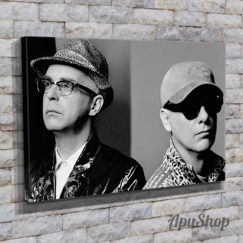cuadros lienzo 45x30 pet shop boys pop electrónico música