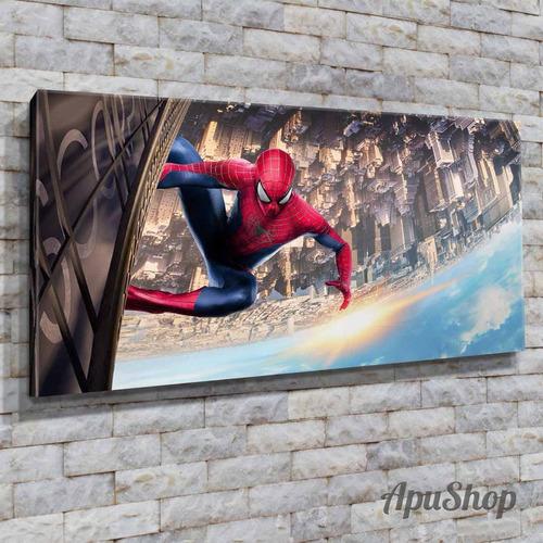 cuadros lienzo 60x30 película spider man marvel comics y más