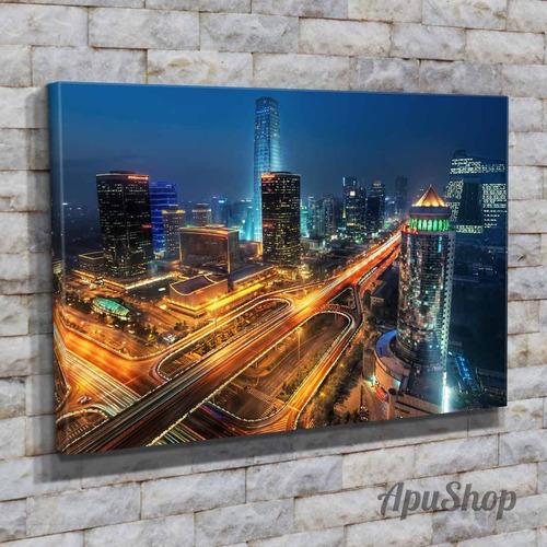 cuadros lienzo 60x40 ciudades  hong kong china viajes y más