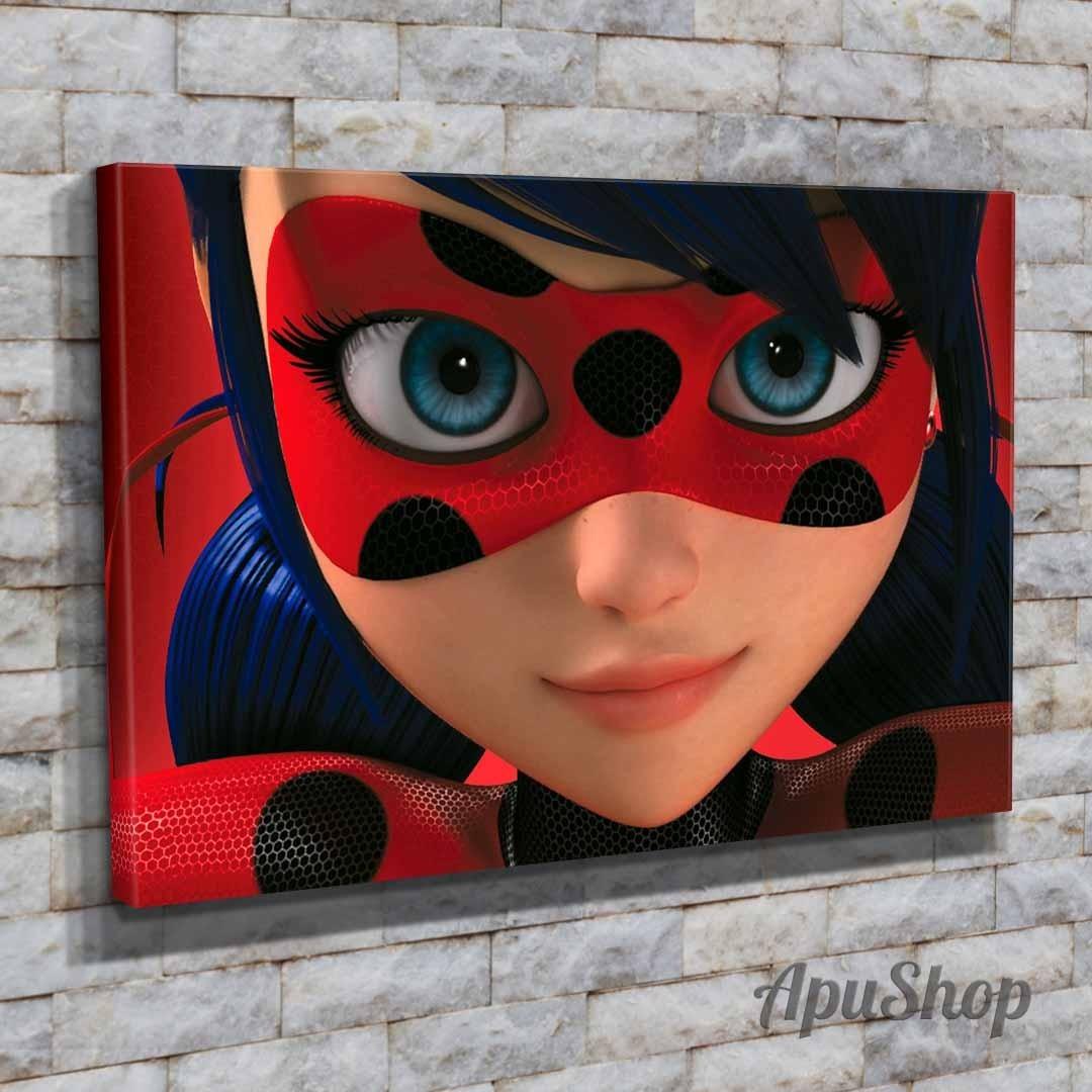 Cuadros Lienzo 60x40 Miraculous Las Aventuras De Ladybug 99900