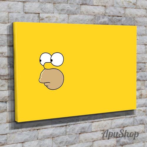 cuadros lienzo 60x40 videojuego bart los simpsons y varios