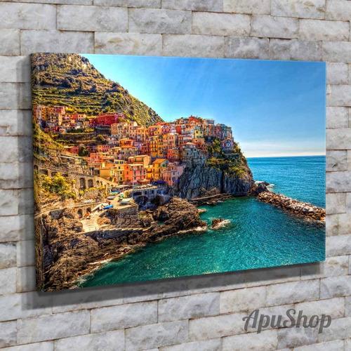 cuadros lienzo 75x50 ciudades manarola italia europa y más