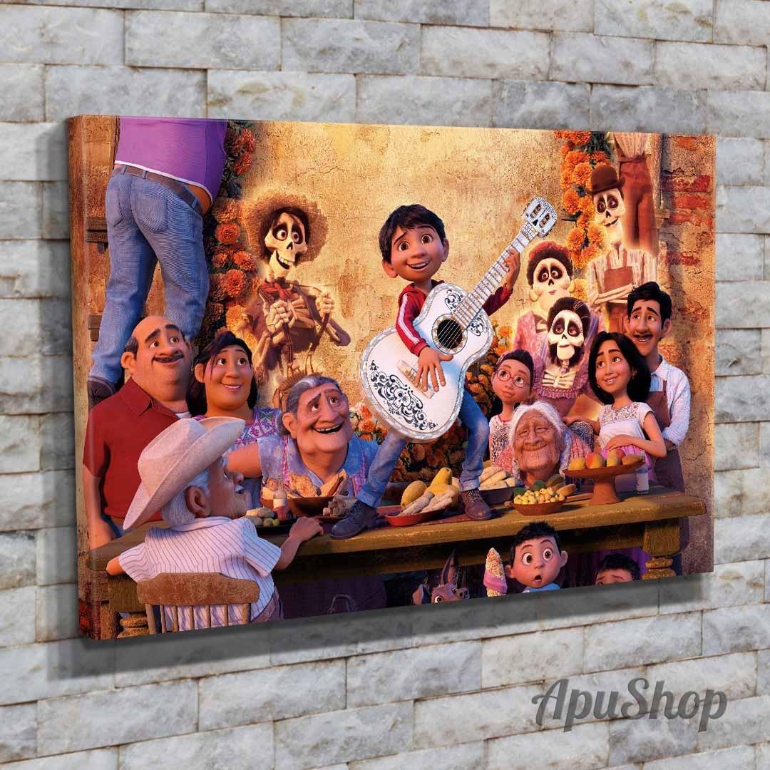 Cuadros Lienzo 90x60 Película Coco Disney Infantiles Chicos ...
