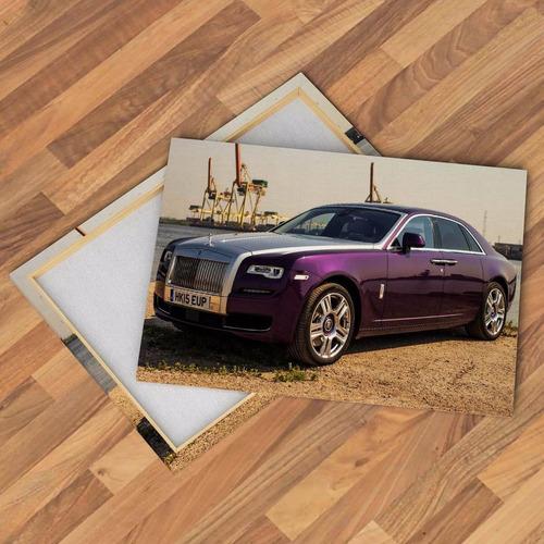 cuadros lienzo autos alta gama rolls royce bentley 75x50