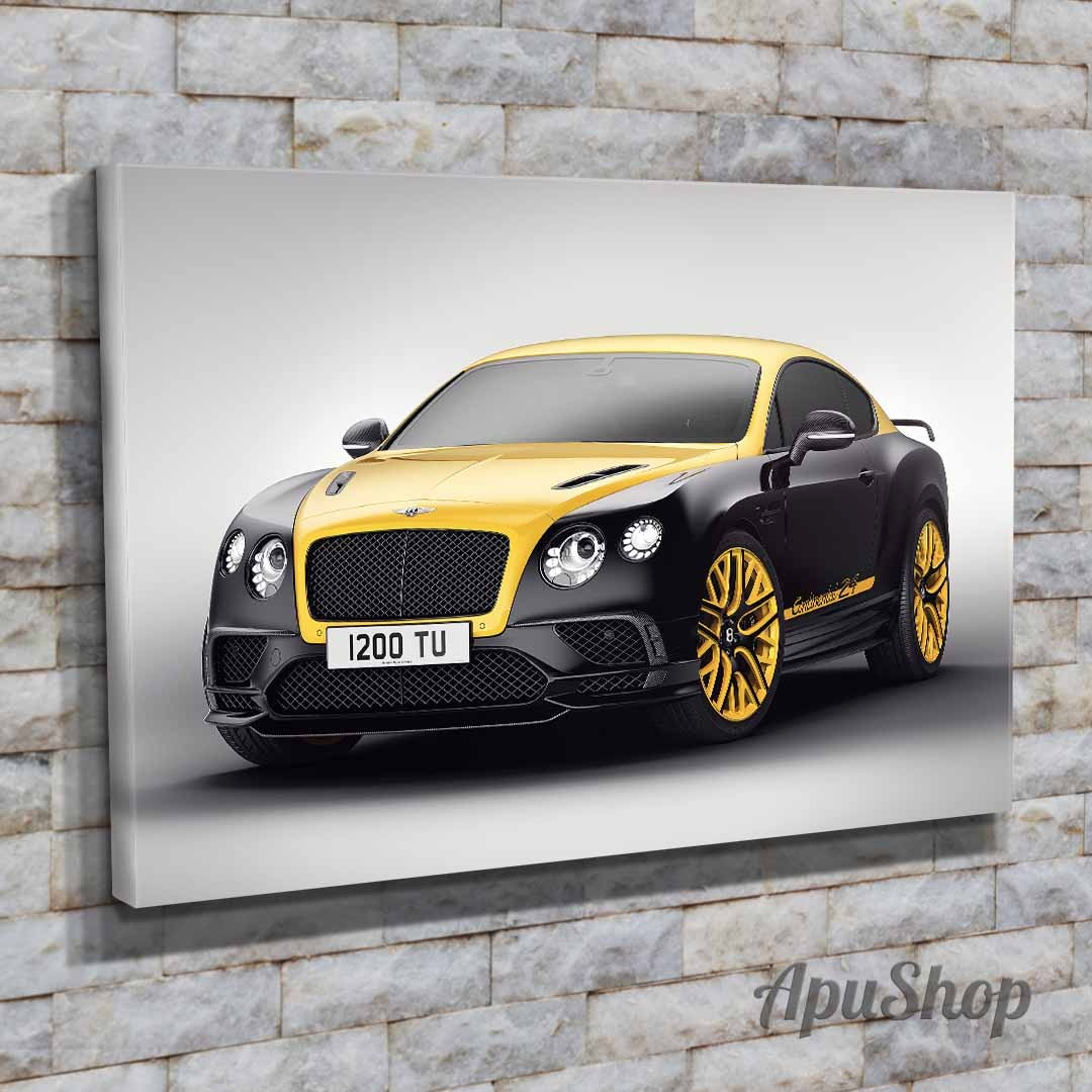 Cuadros Lienzo Autos Bentley Continental Rolls Royce 75x50 - $ 619 ...
