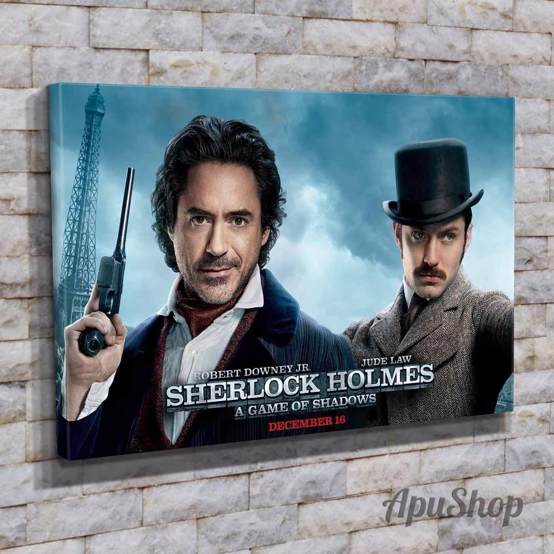 Cuadros Lienzo Modernos 60x40 Película Sherlock Holmes Y Más - $ 749 ...
