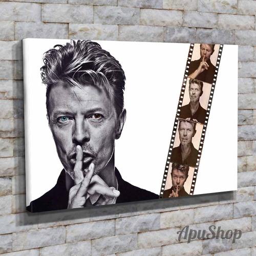 cuadros lienzo tela 60x40 david bowie cantante música
