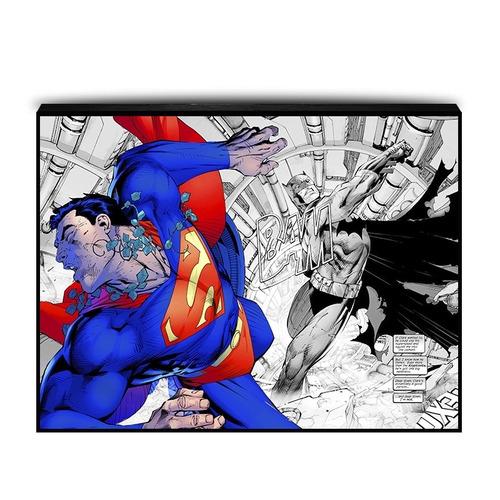 cuadros luminox batman vs superman