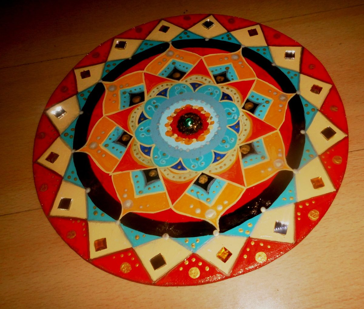 1000 images about mandalas en piedra on pinterest for Cuadros pintados a mano