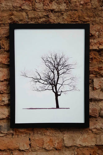 cuadros marco de madera. frases. vintage. decoracion 30x40cm