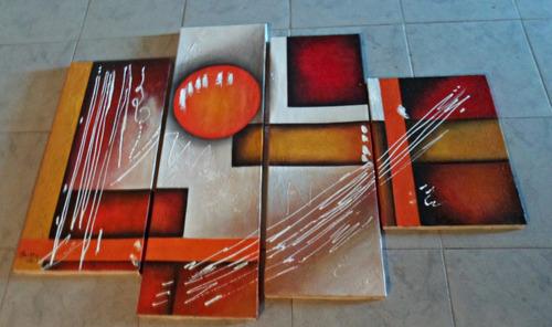 cuadros modernos abstractos de grettyoliveros por encargo