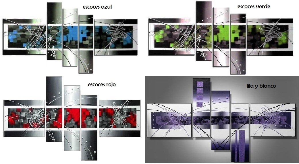 Cuadros modernos abstractos minimalistas grandes bs en mercado libre - Cuadros abstractos minimalistas ...