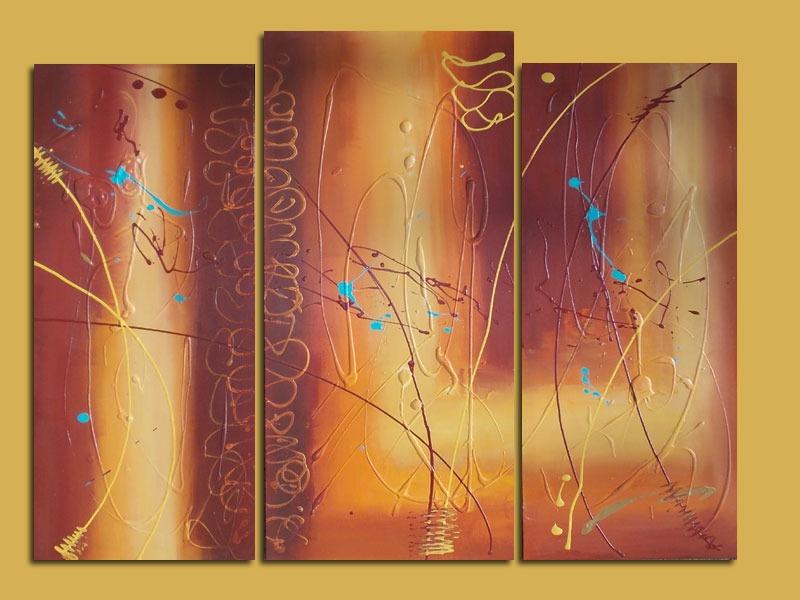 cuadros modernos abstractos minimalistas pintados a mano