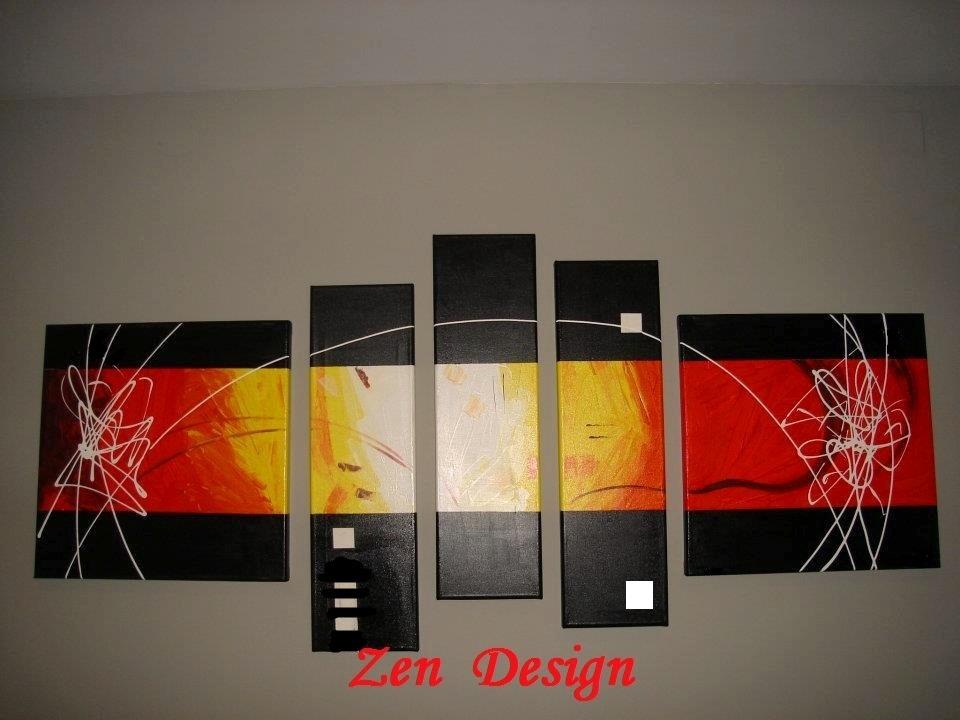 Como hacer cuadros modernos affordable cuadro moderno - Como hacer cuadros modernos ...