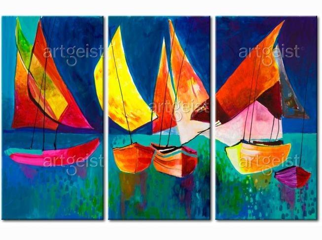 Cuadros modernos abstractos y figurativos de bellos colores en mercado libre - Fotos de cuadros modernos ...