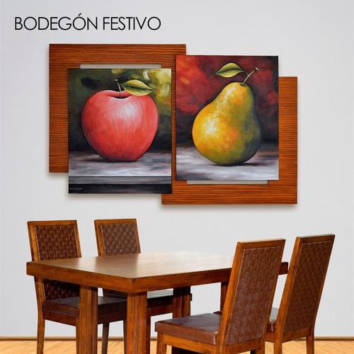 cuadros modernos al óleo. enmarcados. en descuento