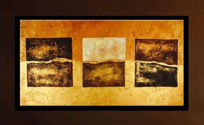 Cuadros modernos con marco detalles en alto relieve s 390 00 en mercado libre - Marcos para cuadros grandes ...