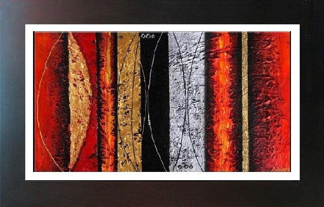 Cuadros modernos con marco detalles en alto relieve s 380 00 en mercado libre - Marcos para cuadros grandes ...