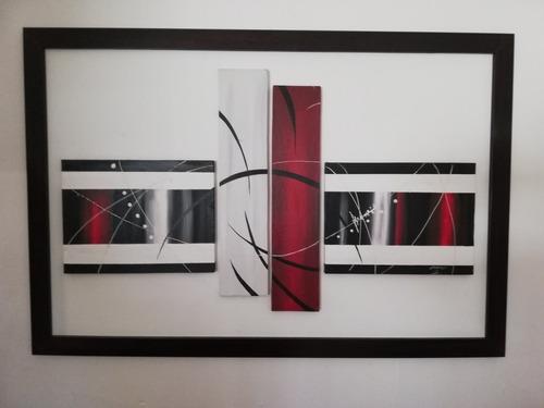cuadros modernos con relieve