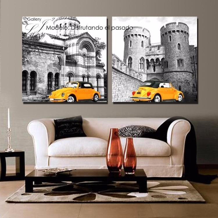 Cuadros modernos decoraci n y dise o sala comedor - Cuadros vintage para salon ...