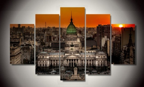 cuadros modernos decorativos 124 x 50 cm
