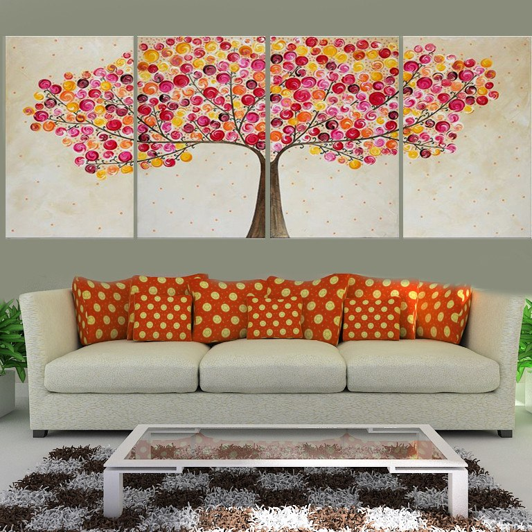 Cuadros Modernos Decorativos Comedor Sillon Arboles Living - $ 1.590 ...