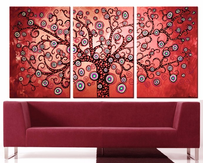 Cuadros de lienzo modernos cuadros tripticos grandes for Donde puedo comprar cuadros decorativos