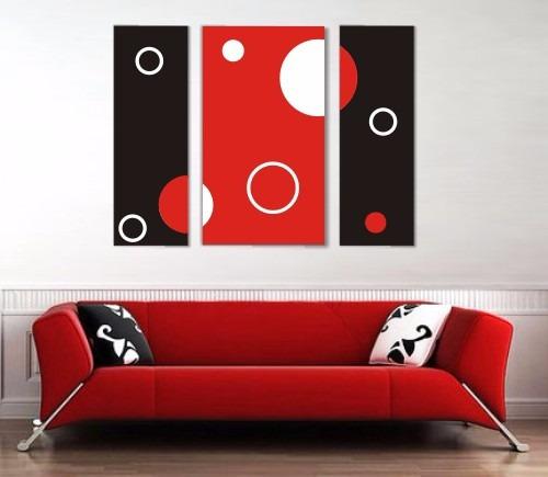 Cuadros dipticos tripticos minimalistas abstractos for Cuadros tripticos abstractos