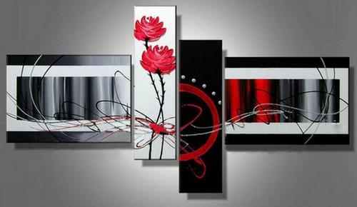 cuadros modernos trípticos-dípticos abstractos, minimalistas