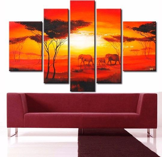 Cuadros grandes modernos cuadros para salones modernos - Cuadros abstractos paso a paso ...