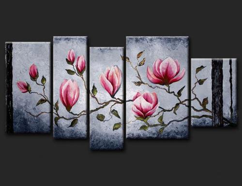 cuadros modernos, tripticos, polipticos, florales,texturados